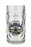 Oktoberfest Munich Dimpled Oktoberfest Glass Beer Mug 0.5 Liter
