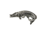 Northern Pike Fishing German Hat Pin
