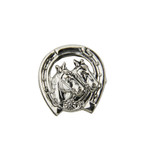 Horses German Hat Pin