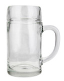 Styria Smooth Body Oktoberfest Glass Beer Mug 1 Liter