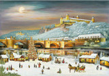 Wurzburg Christmas Market German Christmas Advent Calendar