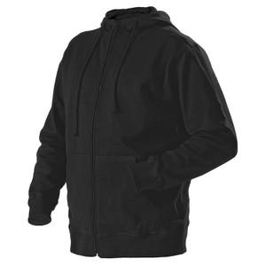 Blaklader 3656 Full Zip Hooded Sweatshirt - Black