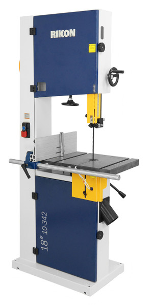 Rikon 10-342 18 Inch Deluxe 2HP Bandsaw with Rip Fence