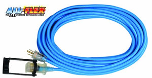 Voltec  05-00142 50 Ft. 12/3 SJEOOW All-Flex Extension Cord with E-Zee Lock and Lighted Ends are made to withstand the most extreme conditions.