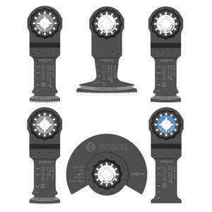 Bosch OSL006 Starlock Oscillating Multi-Tool Accessory Blade Set 6 piece