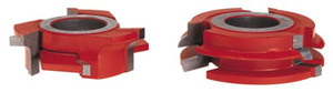 Freud UP260 3/4 In Stock Male And Female Cabinet Door Cutter Sets