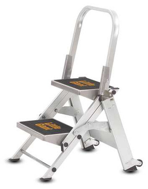Little Giant 10210BA Safety 2 Step With Bar
