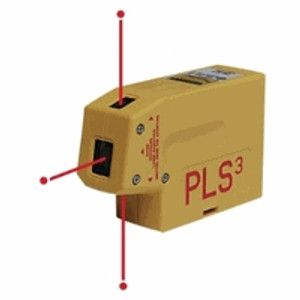 PLS  ATR11241 60523 PLS3 Leveling and Plumb Laser Line Tool 3-Point