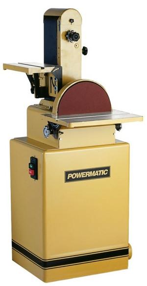 Powermatic 1791291K 31A 6 x 48 in. Belt Disc Sander 1-1/2HP, 1Ph, 115/230V