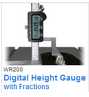 Wixey WR200 Digital Height Gauge w/ Fractions