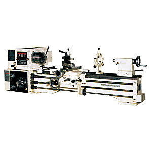 Jet 321120 BDB-1340A-TAK, Lathe with Taper Attachment Installed