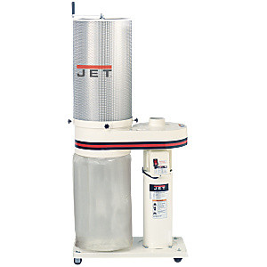 Jet 708642CK Dust Collector with 1 Micron Canister Filter 1HP
