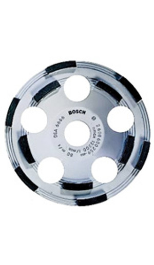 """Bosch DC500 5"""" Diamond Cup Grinding Wheel for Protective Coatings"""