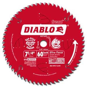 Diablo Ultra Fine Finishing 60-Tooth Circular Saw Blade
