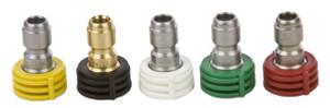 Forney 75148 Multi Pk Soap 0-15-25-40 Deg X 4.0 Spray Nozzles 1/4 In