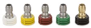 Forney 75149 Multi Pk Soap 0-15-25-40 Deg X 4.5 Spray Nozzles 1/4 In