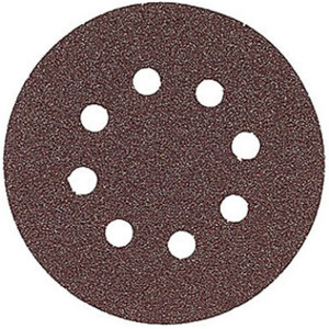 Bosch SR5R060 5 Pack Hook And Loop 60-Grit 5 Inch 8 Hole Sanding Discs