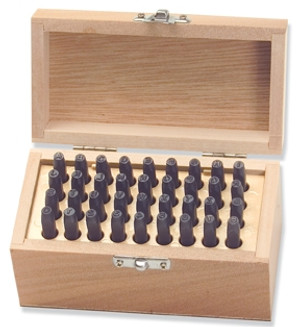 TEKTON 6610 36 Piece Letter And Number Punch Set