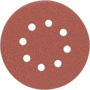 Porter Cable 735801200 5 in. 8-hole 120 Grit Hook and Loop Sanding Disc - 100 Pack