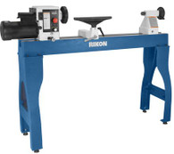 Rikon 70-305 16 x 42 in. VSR Variable Speed Lathe w/ Sliding Head Cast Iron Bed