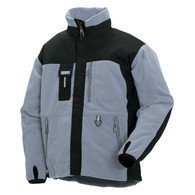 Blaklader 4855 Two Fisted Fleece Jacket - Grey / Black