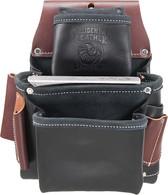 Occidental Leather B5060LH 3 Pouch Pro Fastener Bag - Black, Left Handed