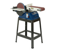 Rikon 50-122 6 x 48 in. Belt 10 in. Disc Sander with Stand