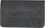 Occidental Leather B309 Oxy Card Wallet - Black