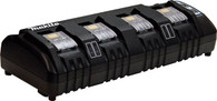 Makita 18V Lithium-Ion LXT Rapid Optimum 4-Port Battery Charger