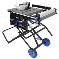 Delta 36-6020 10 In Portable Table Saw with Folding Stand and Wheels