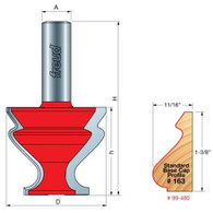 "Freud 99-480 Base Cap Router Bit Profile 1-3/4"" 163 , 1/2"" Shank"