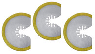 Imperial IBOAT410-3 3-1/8 Inch HSS Round TIN Storm Saw Blades, 3 Pack