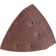 Imperial IBOTSPH80-5 One Fit 80 Grit Triangular Vacuum Hole Sandpaper