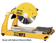 Multiquip MP3 14 In Compact Masonry Saw, 2.5HP 115V 60HZ - Wet/Dry