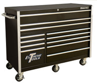 Extreme Tools RX552512RCBK 55 In. 12 Drawer Roller Cabinet - Black