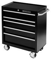 Extreme Tools PWS302005RCTXBK Extreme Tools 30 Inch 5-Drawer Roller Cabinet - Black