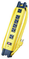 Voltec 11-00226  6-Outlet Surge Metal Strip provides premium power protection for your work bench or jobsite.