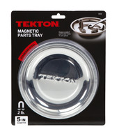 TEKTON 1902  Round Magnetic Parts Tray conveniently keeps nuts and bolts, parts, and small tools within reach of work area.