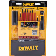 DeWalt DWHT66417 Insulated Vinyl Grip Screwdriver Set