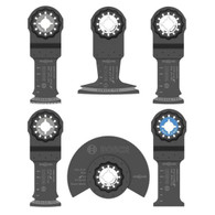 Bosch OSL006 Starlock Oscillating Multi-Tool Accessory Blade Set 6 piece