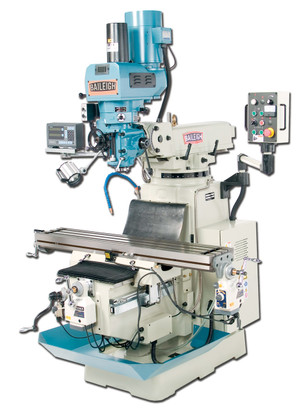 Baileigh VM-1054-3 220V 3 Phase Vari Speed Vertical Milling Machine, (Product image is only a representation, actual product appearance may differ slightly)