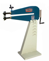 Baileigh BR-18M-24 Bead Roller is made from of a heavy steel framework that is electro welded for further rigidity