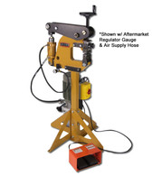 """Baileigh MSS-14H Metal Forming Shrinker Stretcher is 100% made in the USA from solid plate steel and has a deep 7"""" throat allowing even the deepest of metal working."""