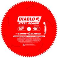 Diablo D1490CF 14 In X 90 Tooth Steel Demon Metal Cutting Saw Blade
