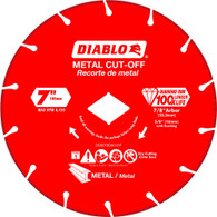 Diablo DDD070DIA101F 7 In Diamond Cut-off Wheel For Metal