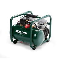 Rolair JC10PLUS 1HP 2.5 Gal Elect Oil-Less Hot Dog Contractor Air Compressor
