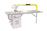 King Industrial XL-1014 Overarm Blade Cover System With Dust Collection