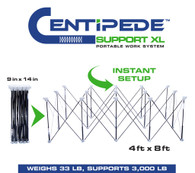 Centipede Tool K200 Support XL 15 Strut Expandable 4 X 8 Portable Sawhorse and Work System Kit