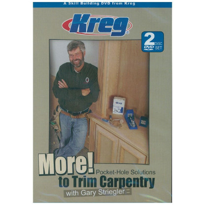 Kreg V10-DVD More Pocket Hole Solutions to Trim Carpentry Video DVD