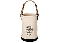 Klein 5106 Straight Wall Bucket Ironworker's Pouch